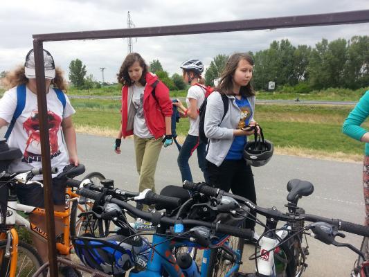 Výlet na bicykloch do Rusoviec