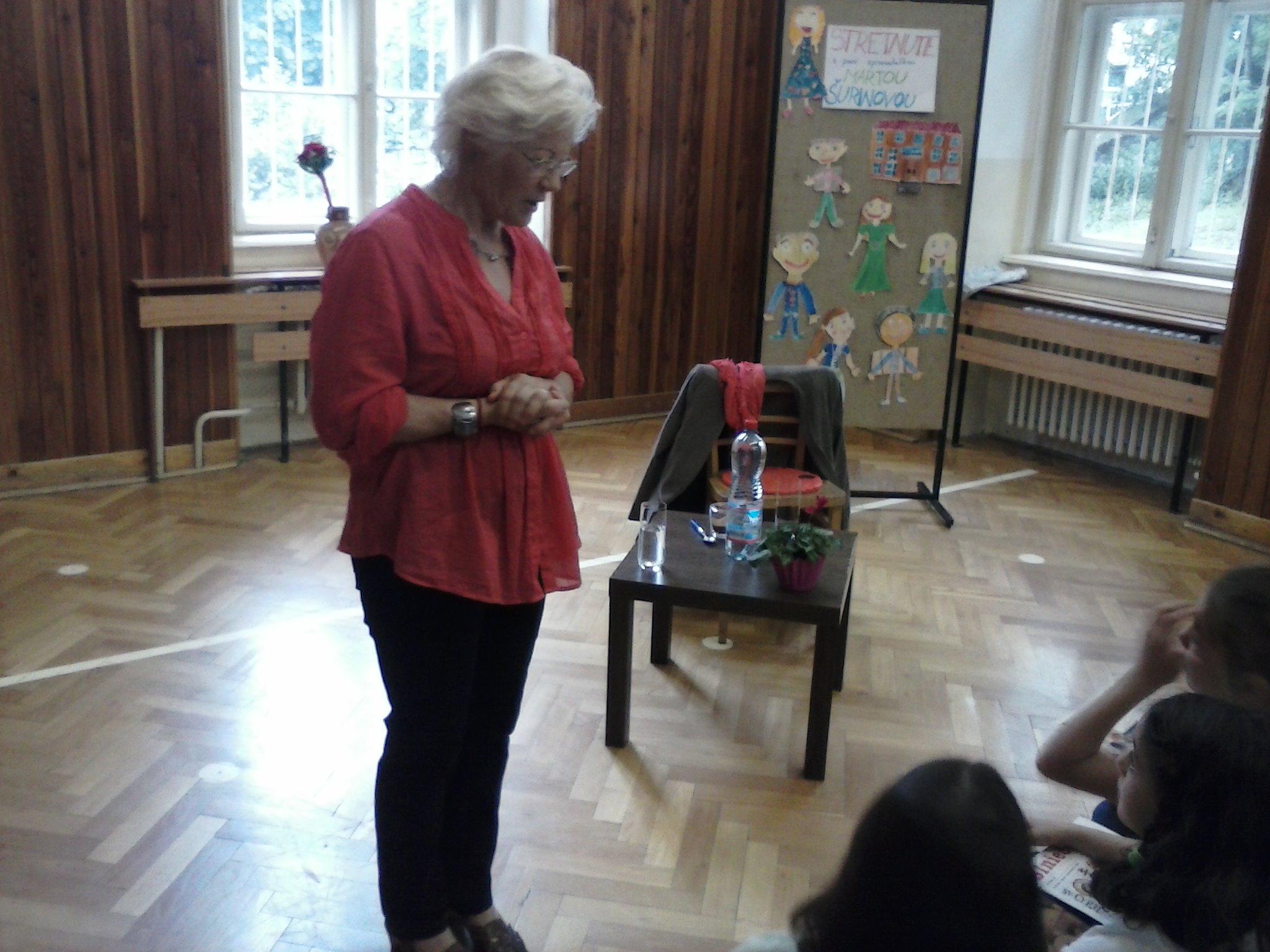 Beseda s Martou Šurinovou