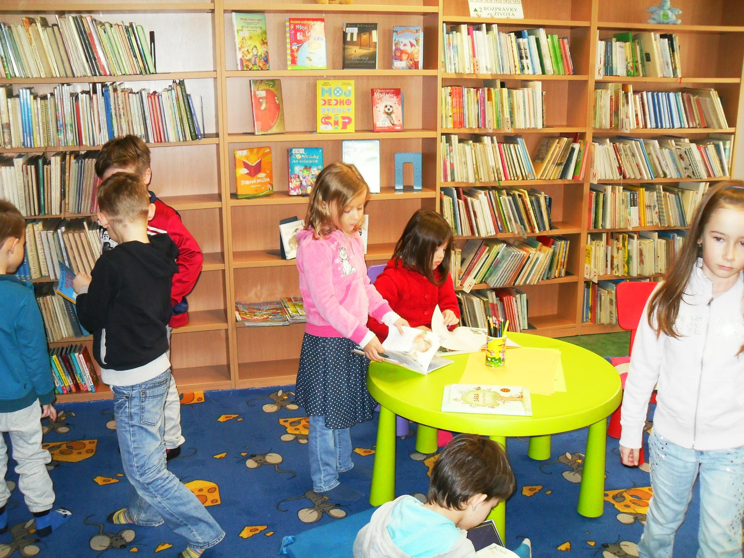 MŠ v mestskej knižnici