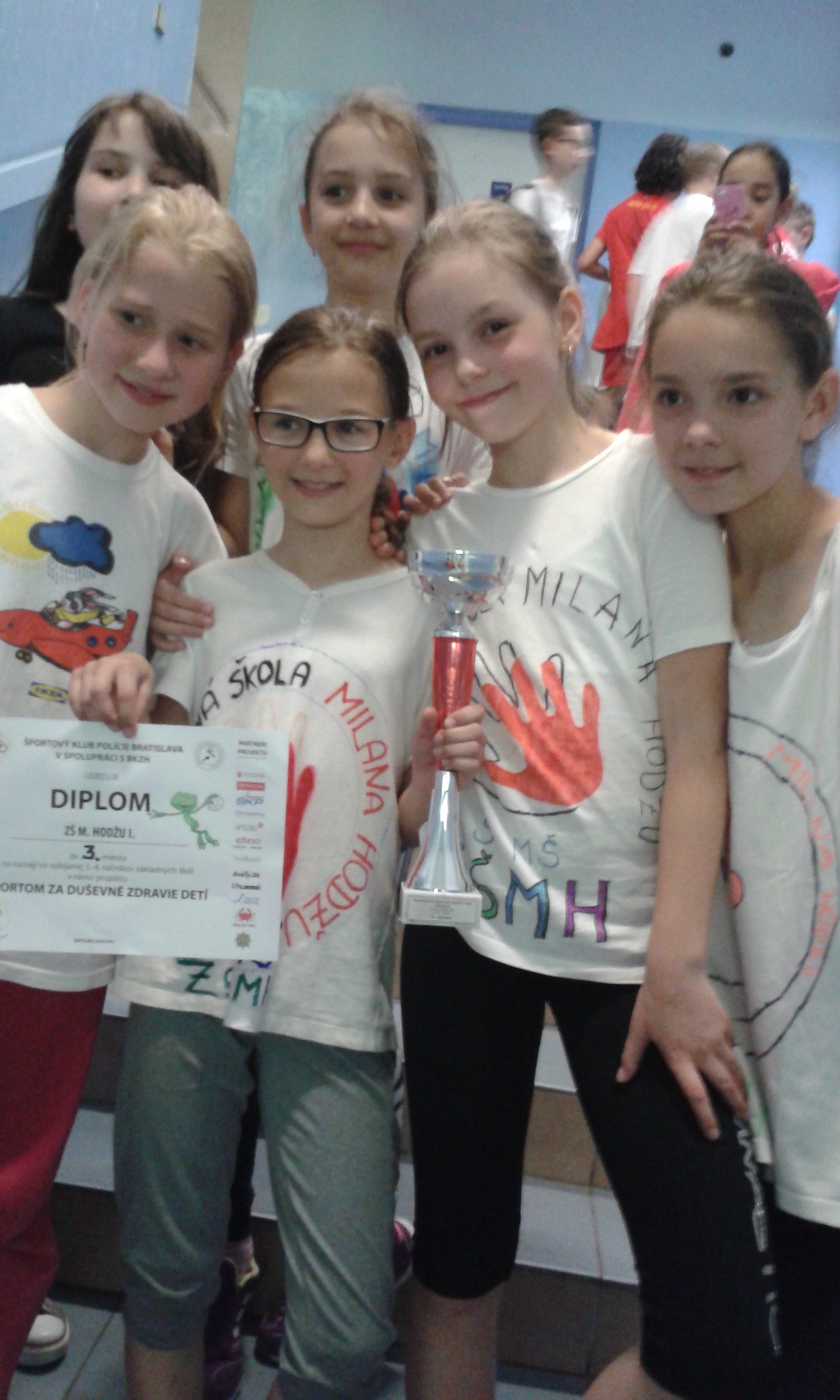 Športom za duševné zdravie detí - 3. miesto na turnaji vo vybíjanej
