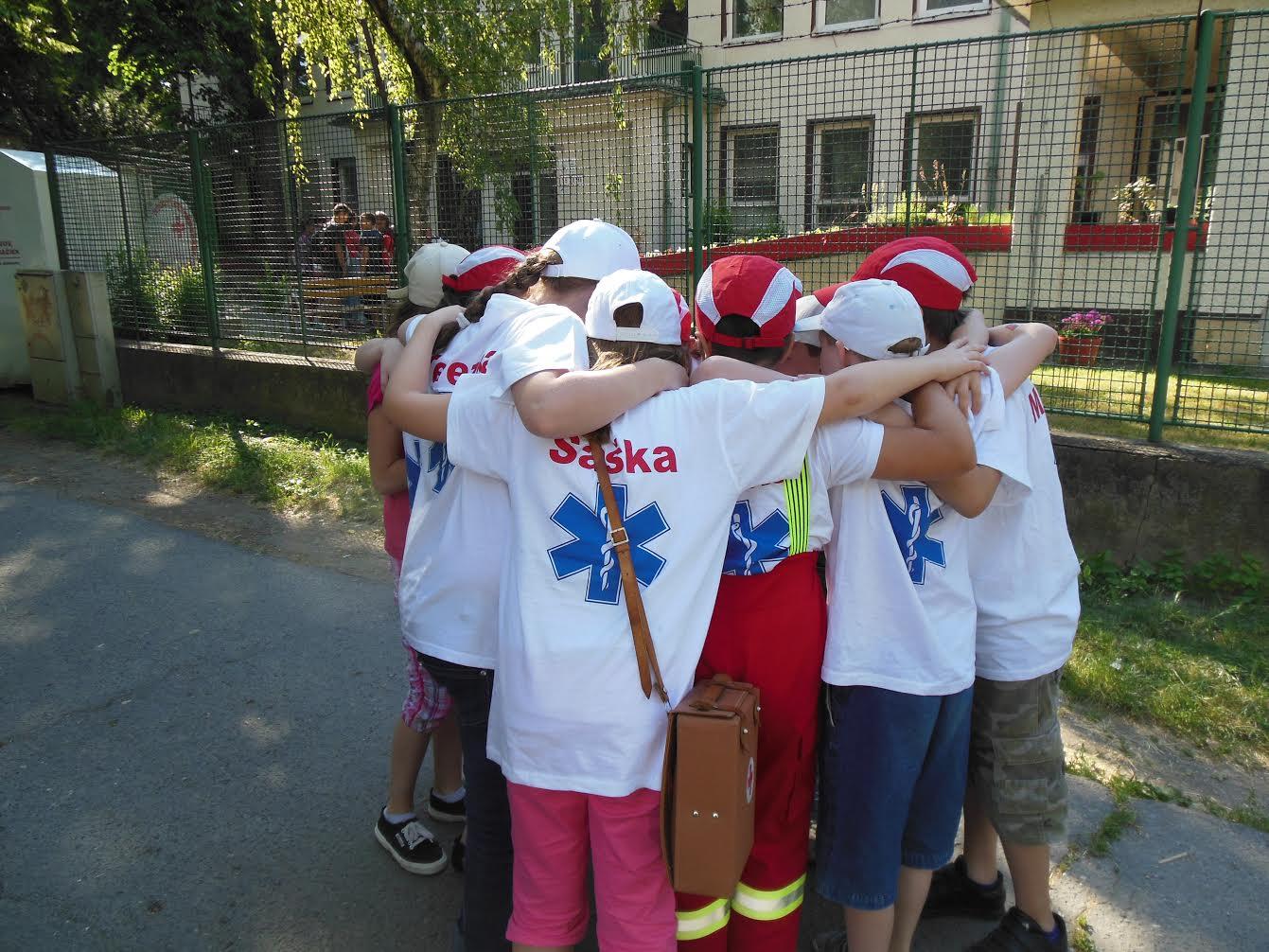 Súťaž mladých zdravotníkov Bratislava - mesto 1. miesto