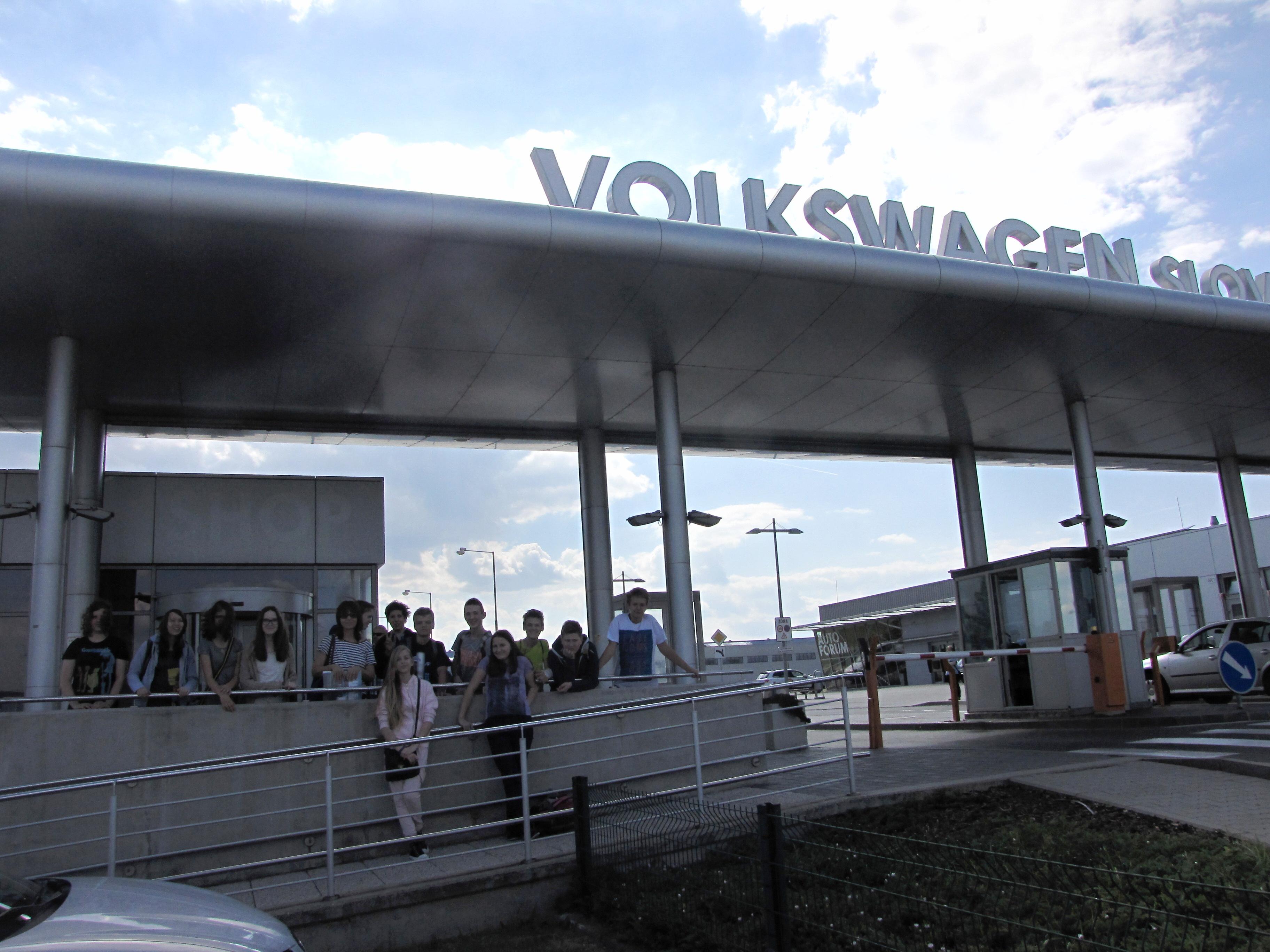 Exkurzia Volkswagen Slovakia