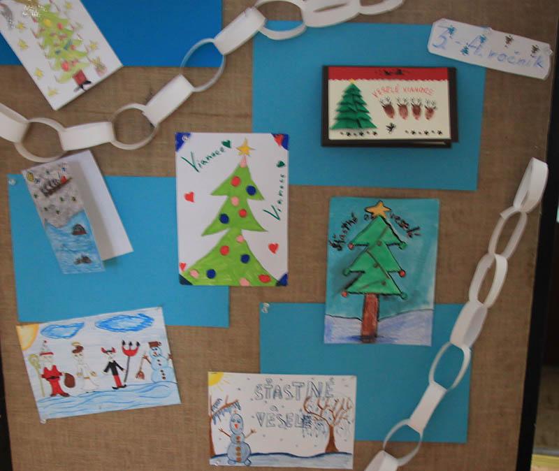 Vianočná pohľadnica
