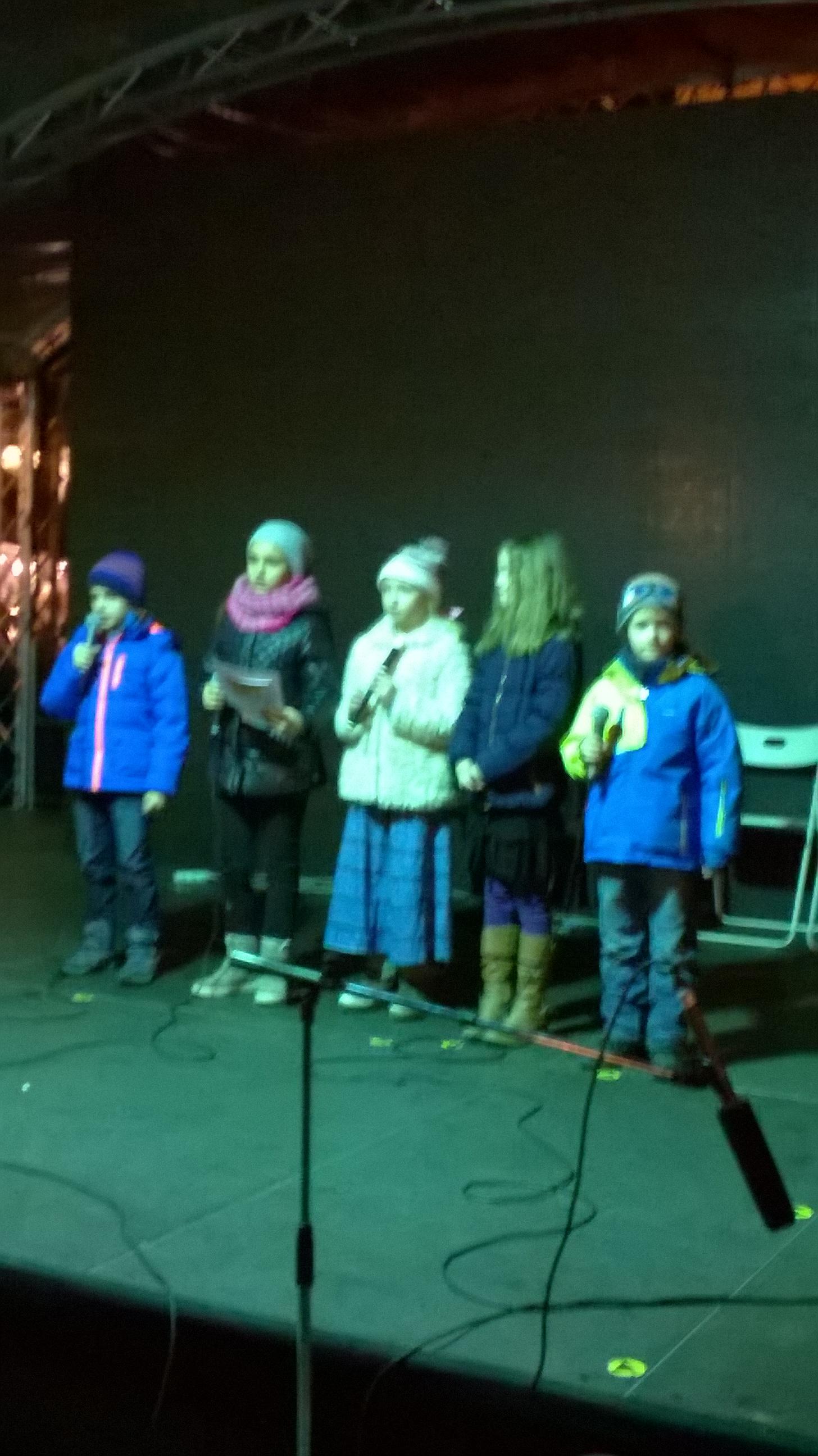 Detské Vianoce na Hviezdoslavovom námestí