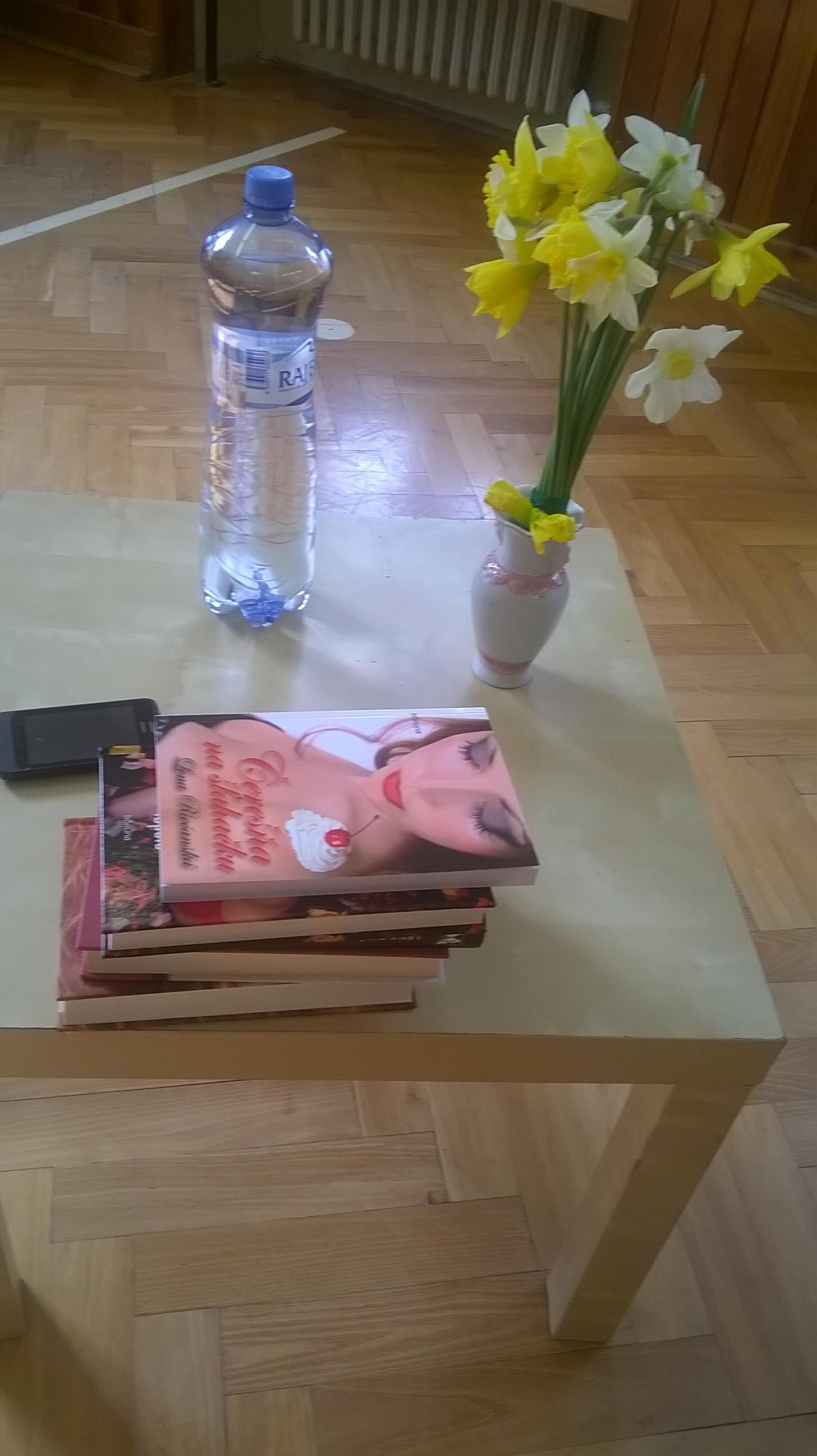 Beseda so spisovateľkou Lenou Riečanskou