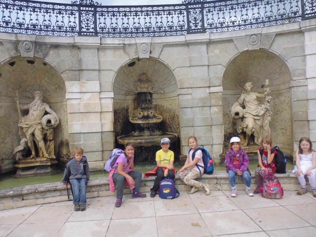 Výlet I.A a II.A na zámku Schloss Hof