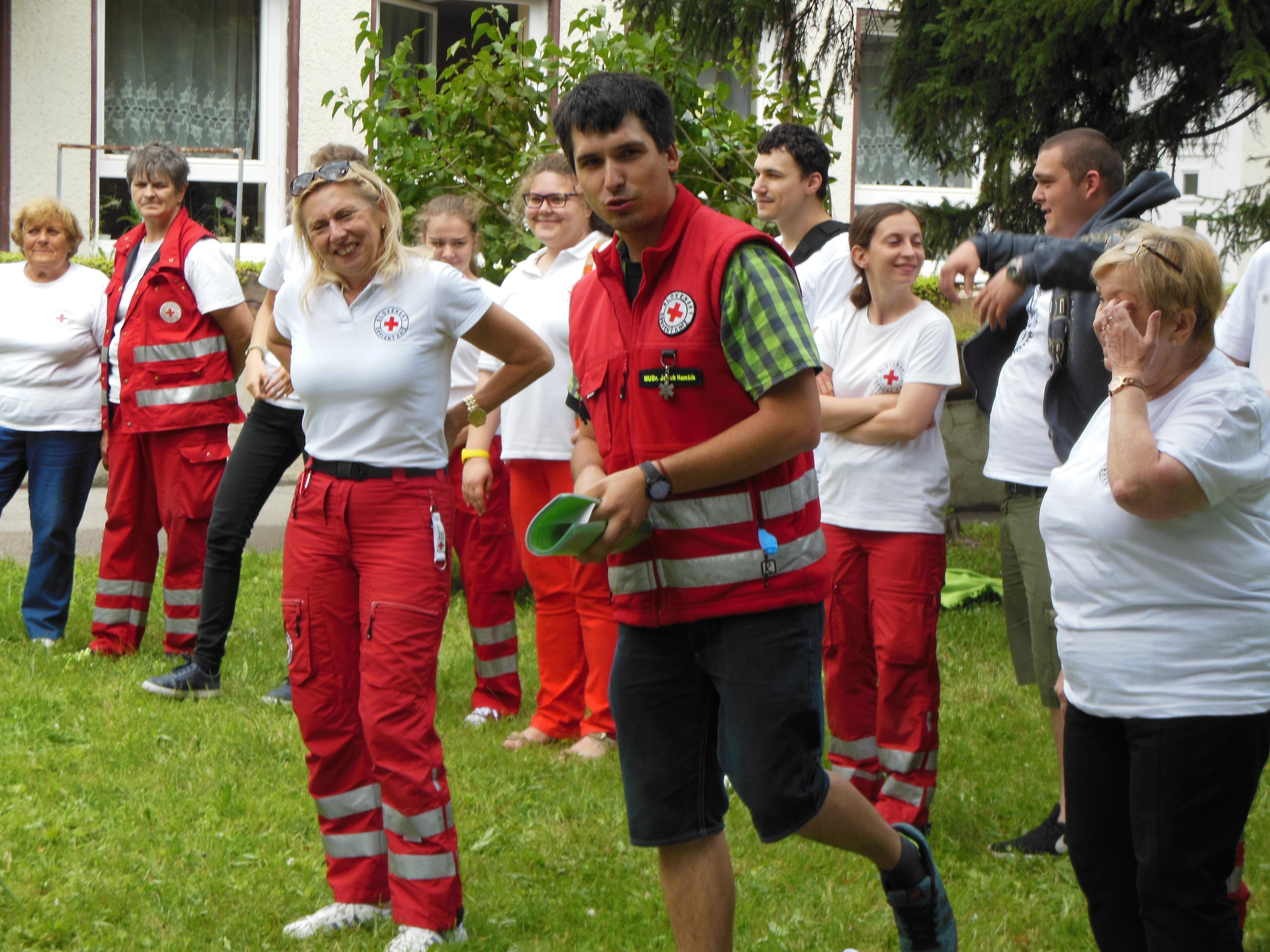 Súťaž mladých zdravotníkov - 2. miesto