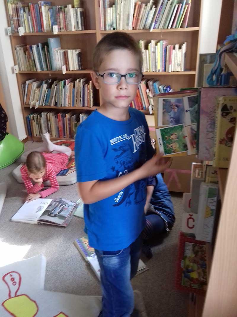 Pasovanie prvákov za čitateľov knižnice