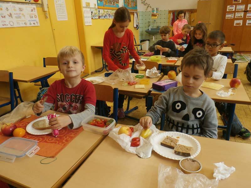 Týždeň zdravej výživy v školskom klube