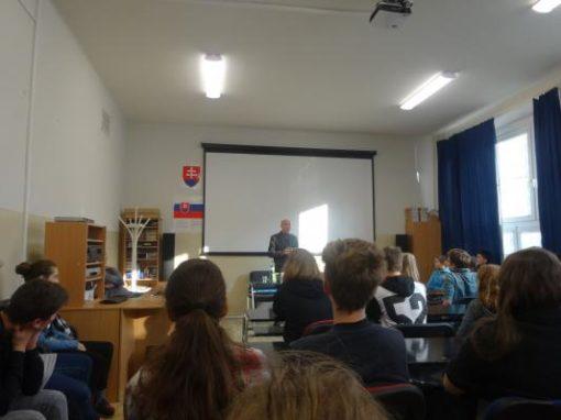 Anton Lauček - Debata so spisovateľom