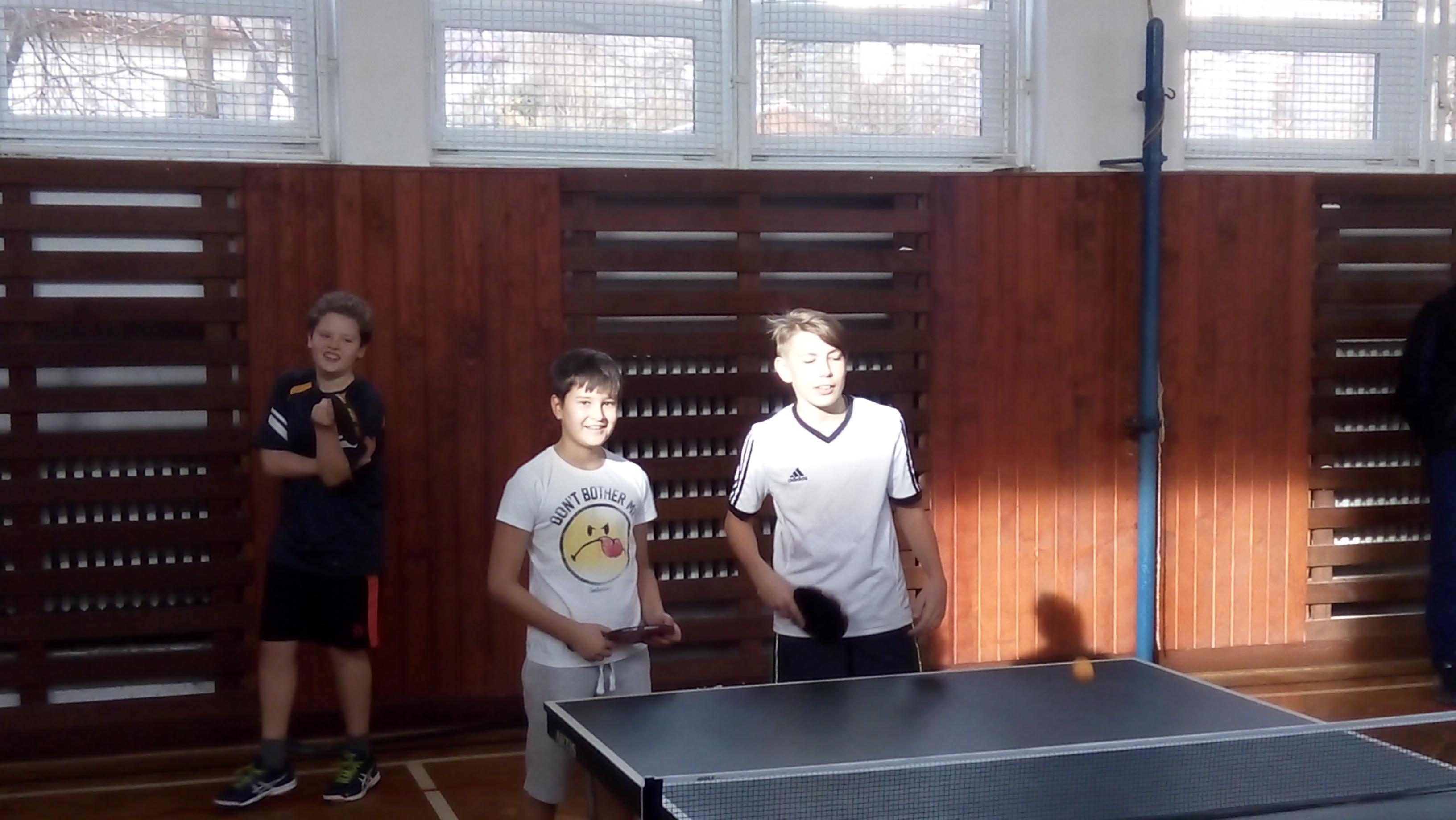 Okresné kolo v stolnom tenise