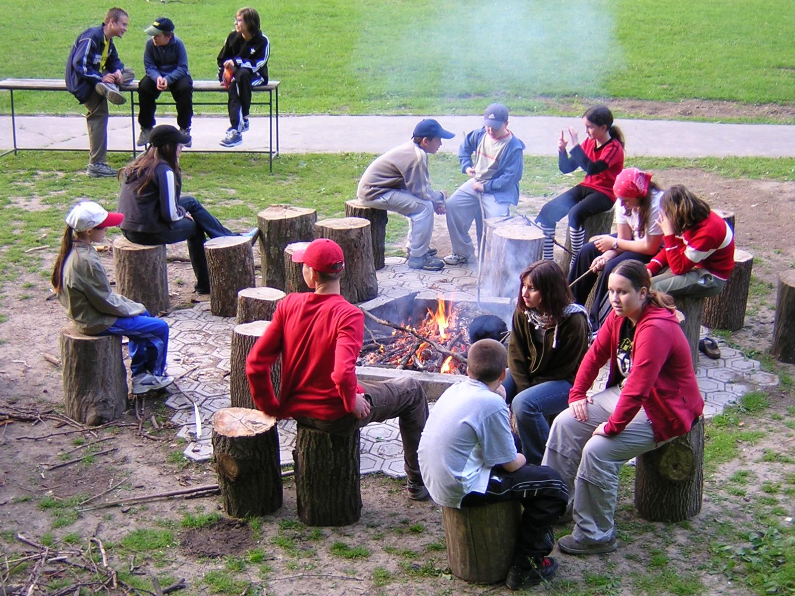 Škola v prírode - máj 2004