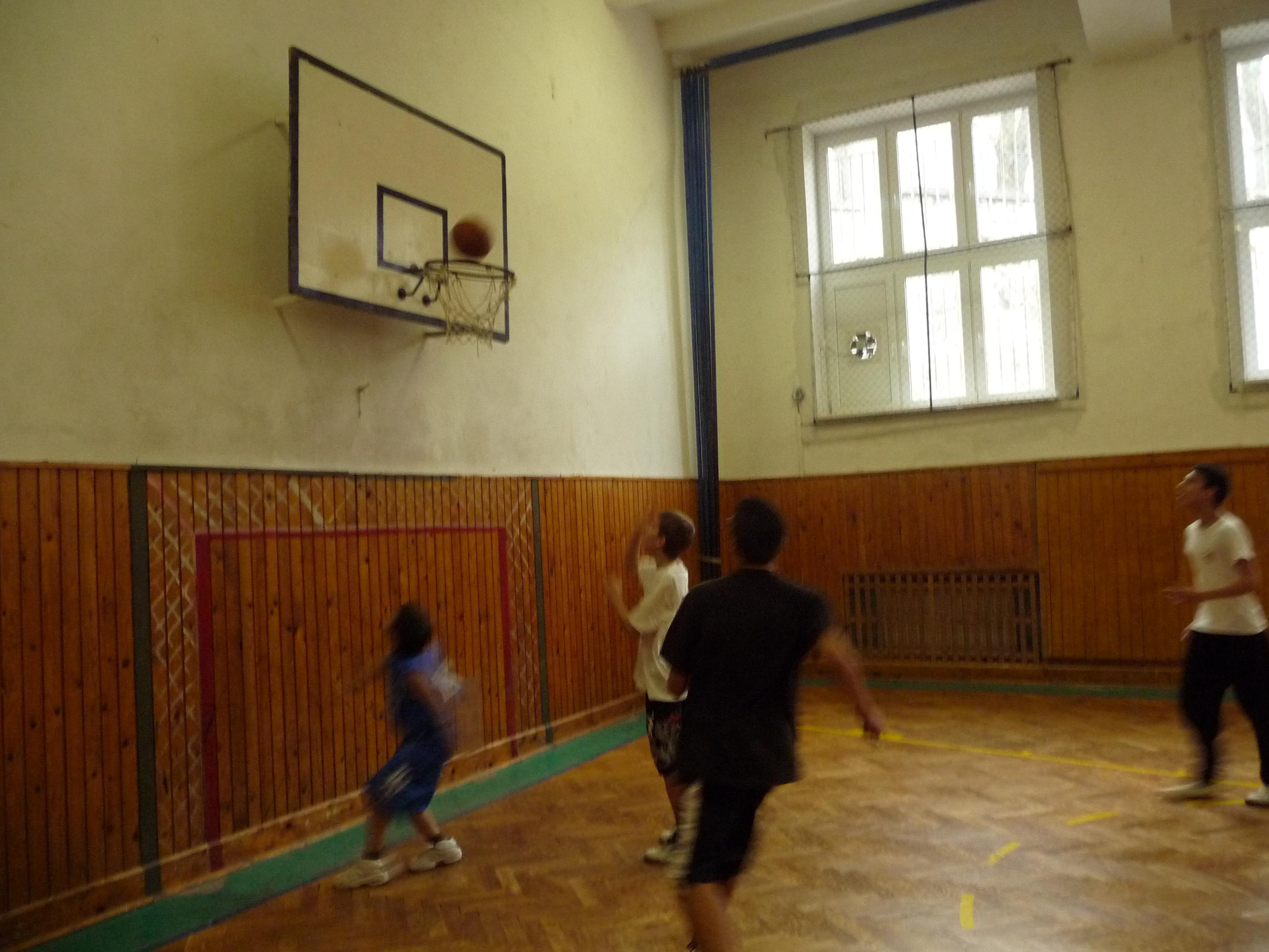 Basketbalový turnaj - Všetci v pohybe