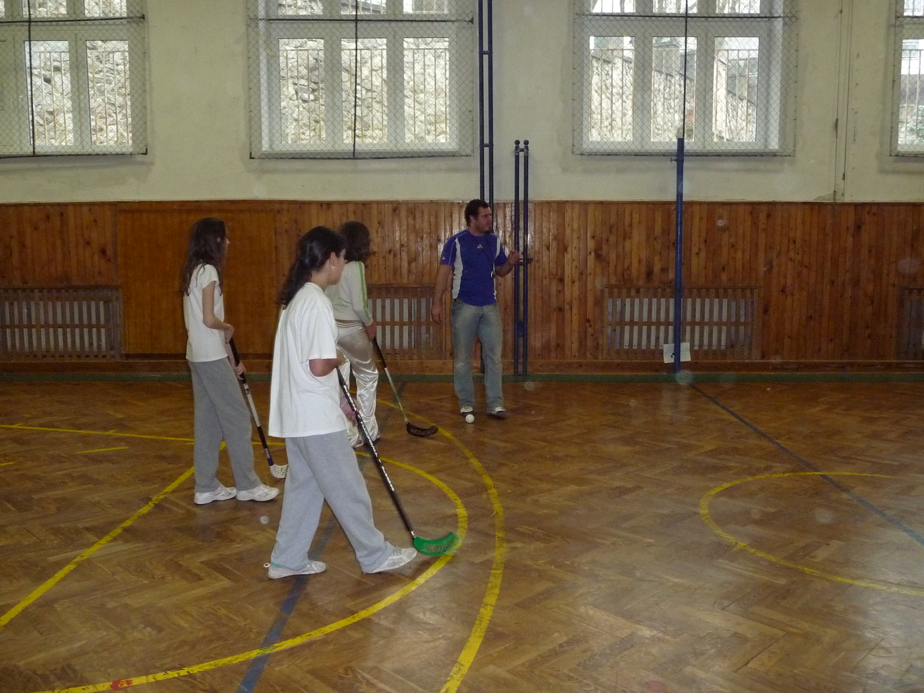 Florbalový turnaj - Všetci v pohybe
