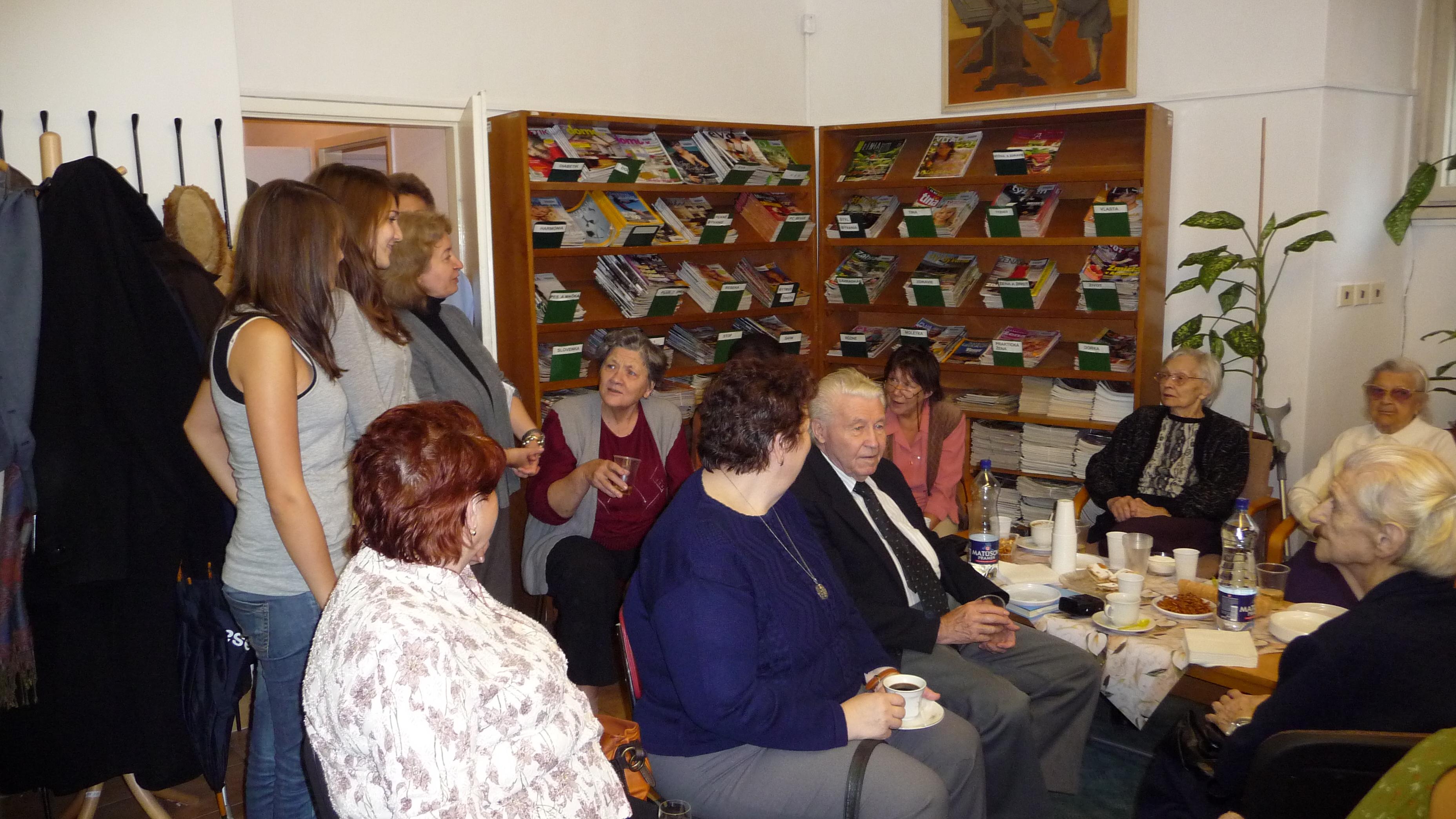 Návšteva v Domove dôchodcov