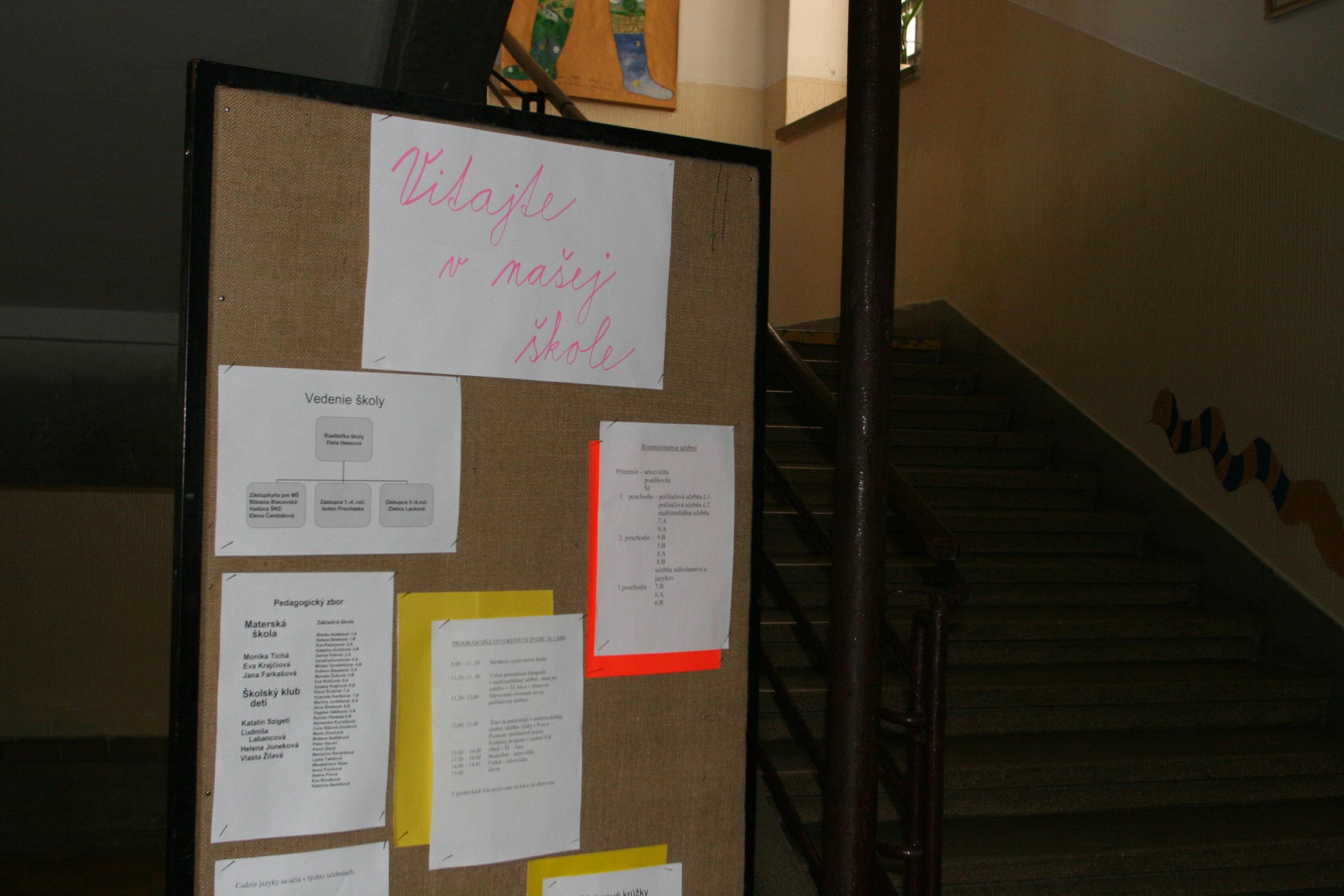 Deň otvorených dverí na 2. stupni