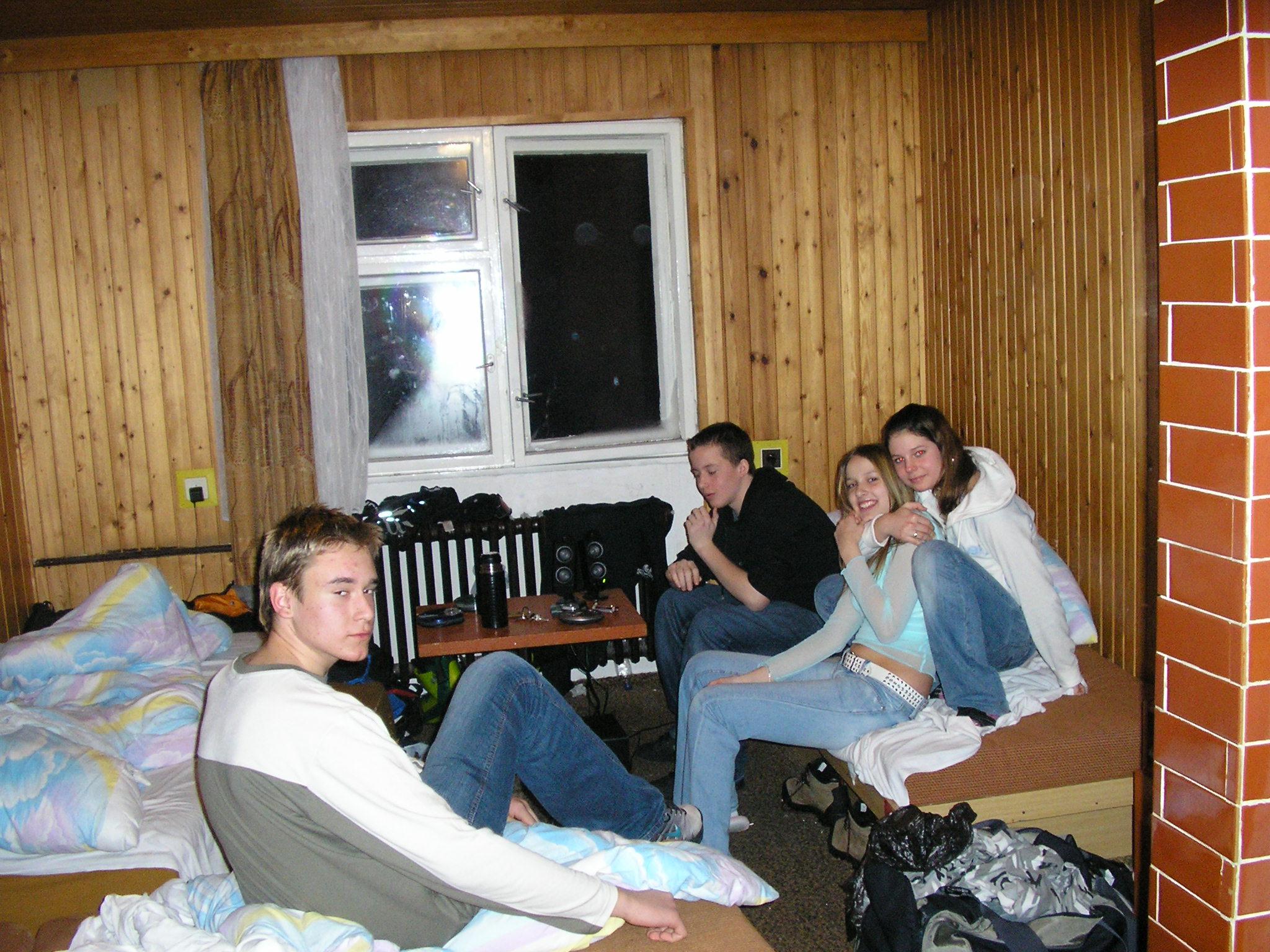 Lyžiarsky kurz – Homôlka 2006