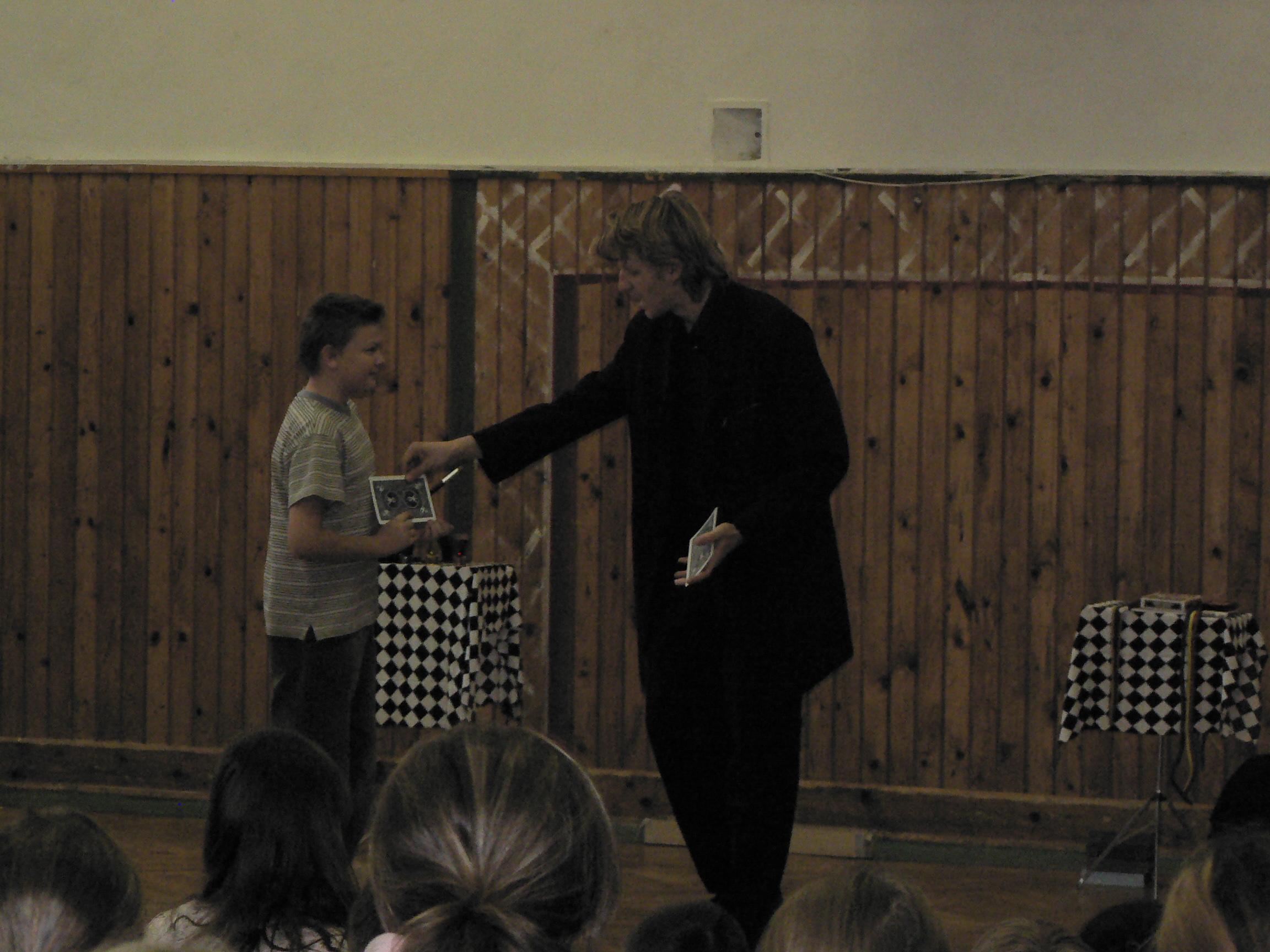 Kúzelník v škole