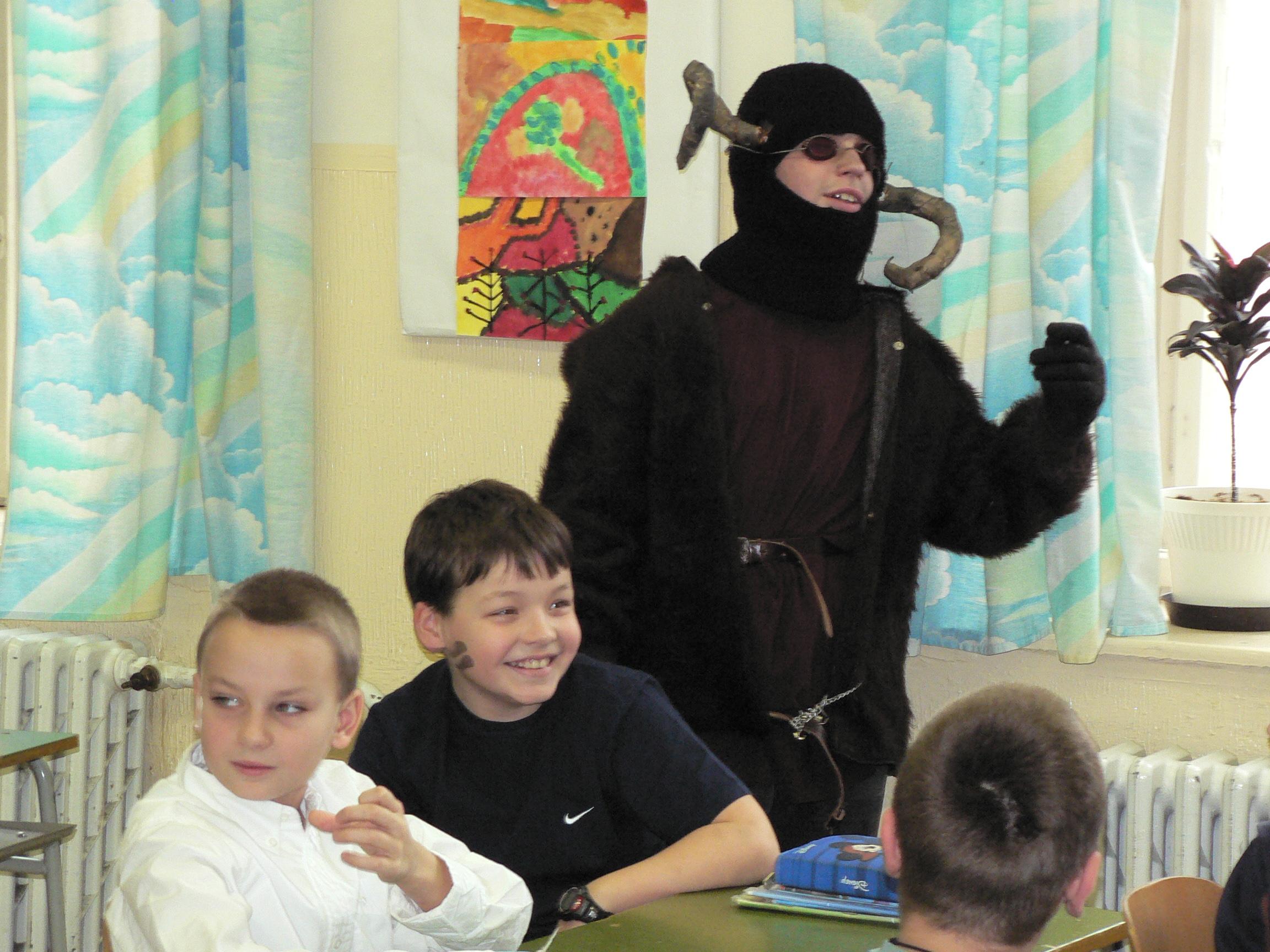 Mikuláš (fotky od žiaka Janka Mýtneho)