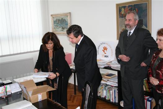 Návšteva ministra