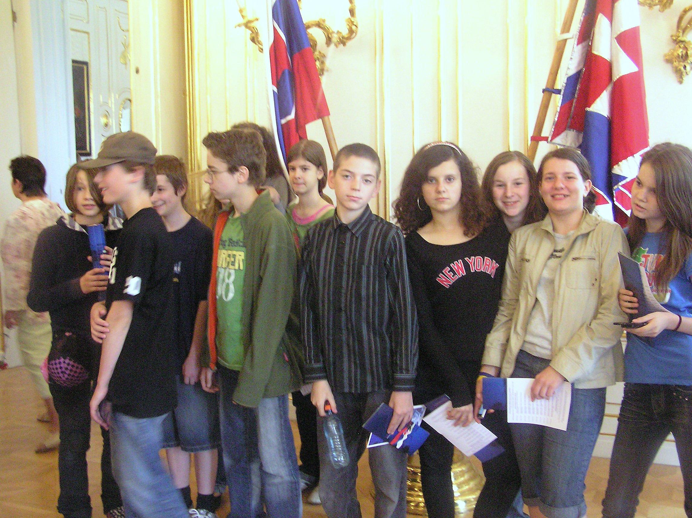 Na návšteve u prezidenta